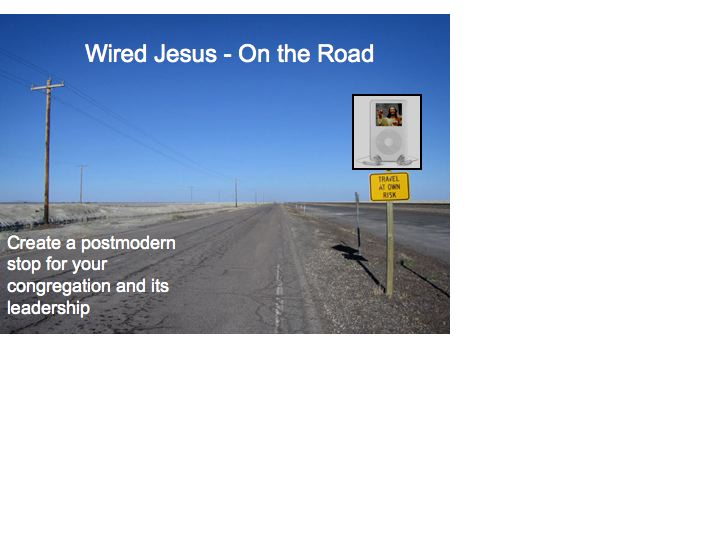 wired jesus on the road logo